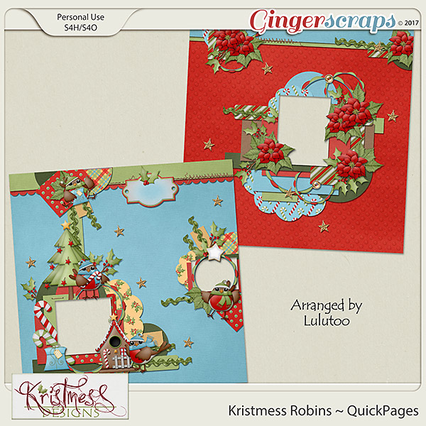 Kristmess Robins QuickPages
