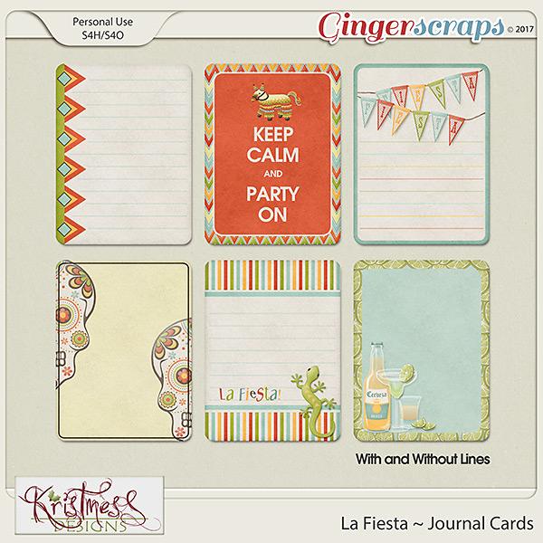 La Fiesta Journal Cards