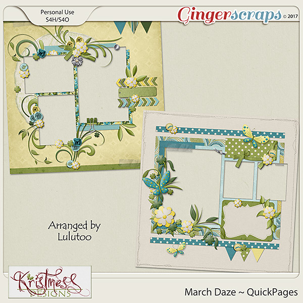 March Daze QuickPages