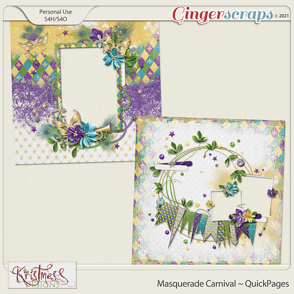 Masquerade Carnival QuickPages