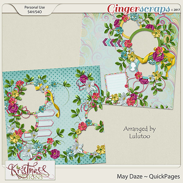 May Daze QuickPages