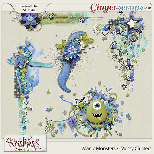 Manic Monsters Messy Clusters