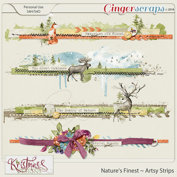 Nature's Finest Artsy Strips