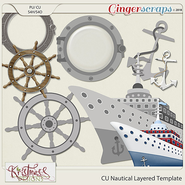 CU Nautical Layered Templates