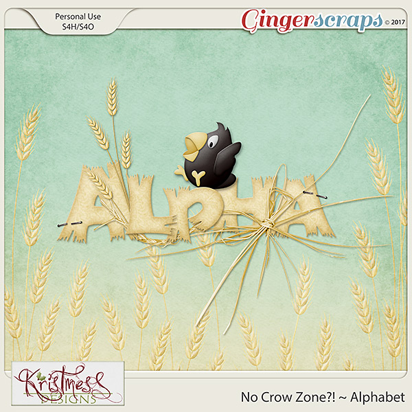 No Crow Zone?! Alphabet