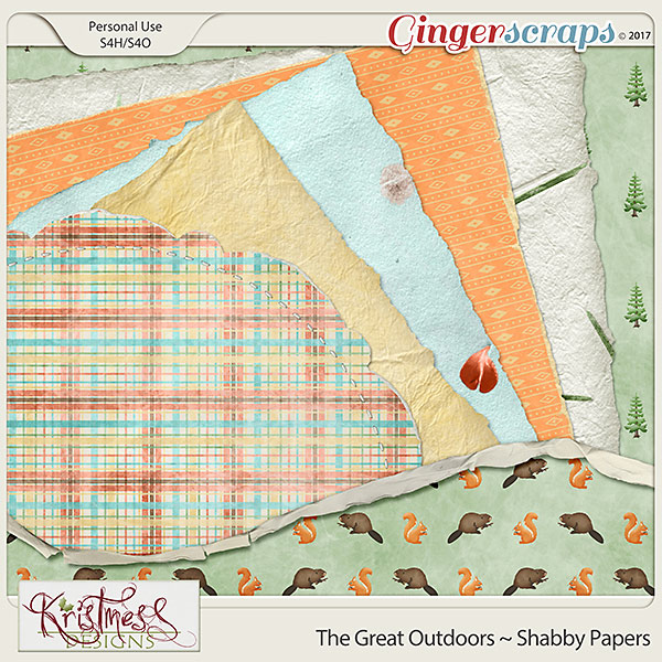 The Great Outdoors Shabby Papers