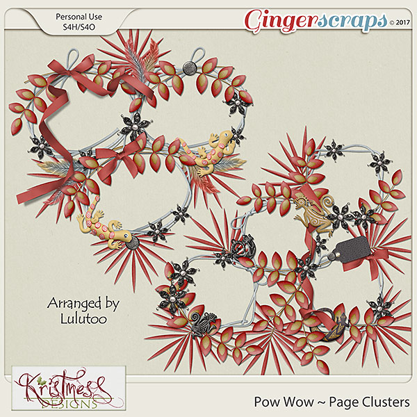 Pow Wow Page Clusters