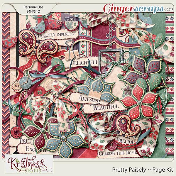 Pretty Paisley Page Kit