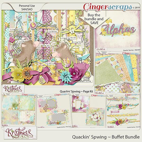 Quackin' Spwing Buffet Bundle