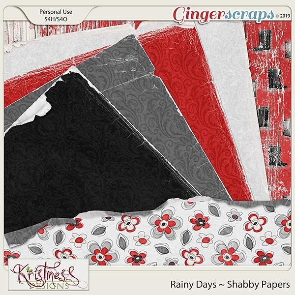 Rainy Days Shabby Papers