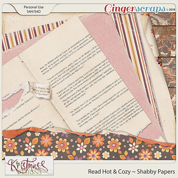 Read Hot & Cozy Shabby Papers
