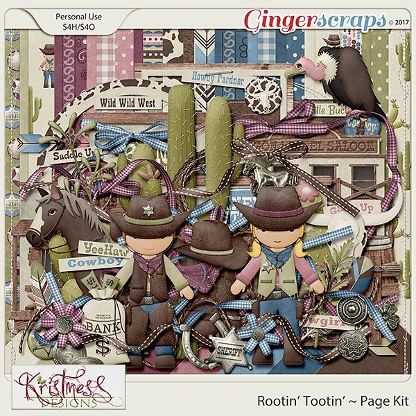 Rootin' Tootin' Page Kit