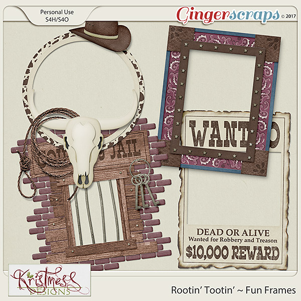 Rootin' Tootin' Fun Frames