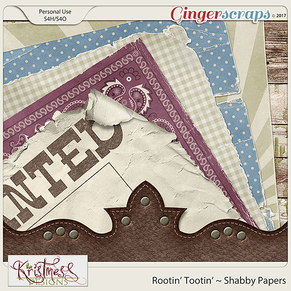 Rootin' Tootin' Shabby Papers