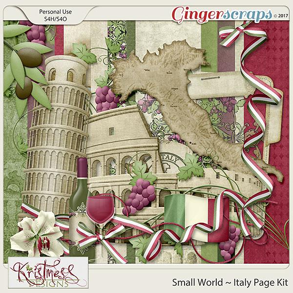 Small World ~ Italy Mini Kit
