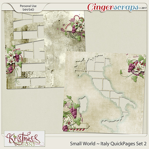 Small World ~ Italy QuickPages 2