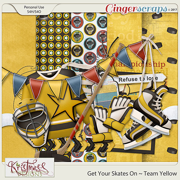 Get Your Skates On ~ Team Yellow Mini Kit