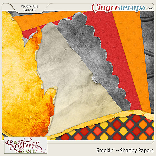 Smokin' Shabby Papers