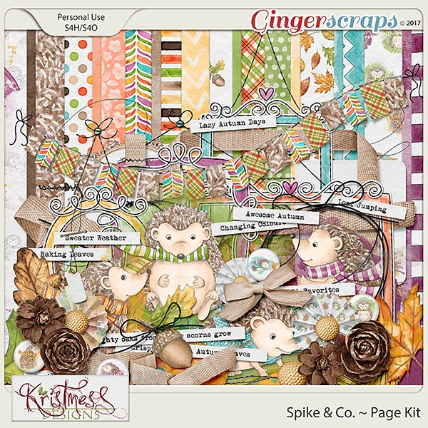 Spike & Co. Page Kit