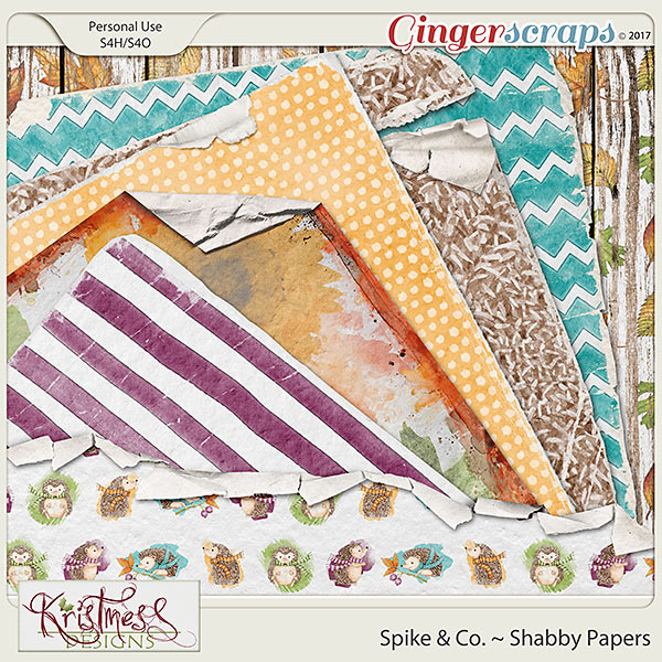 Spike & Co. Shabby Papers