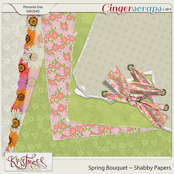 Spring Bouquet Shabby Papers