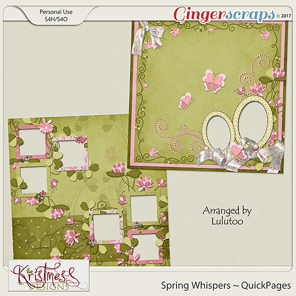 Spring Whispers QuickPages