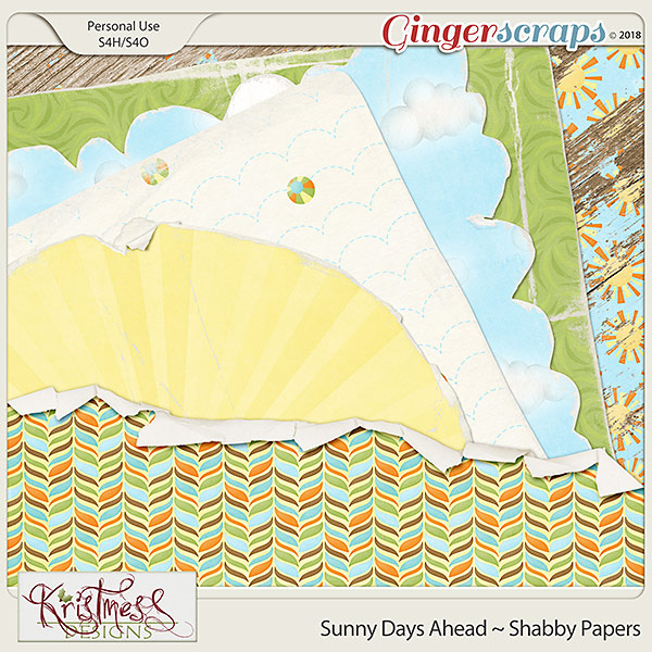 Sunny Days Ahead Shabby Papers