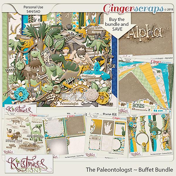 The Paleontologist ~ Buffet Bundle