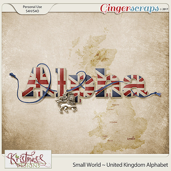 Small World ~ UK Alphabet