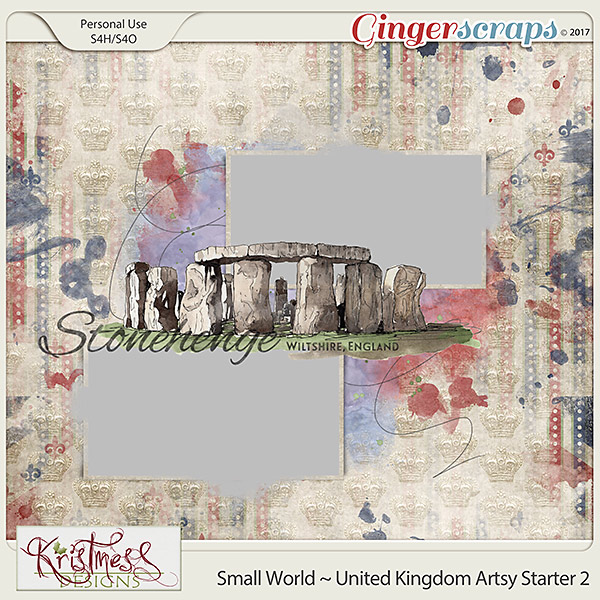 Small World ~ UK Artsy Starter 2
