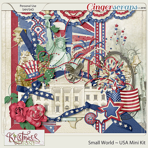 Small World ~ USA Mini Kit