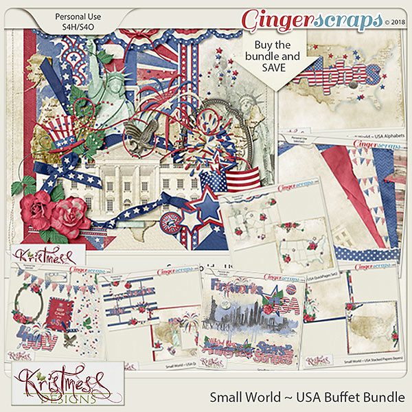 Small World ~ USA Buffet Bundle