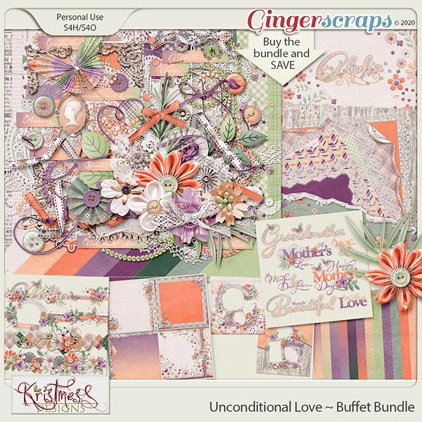 Unconditional Love Buffet Bundle