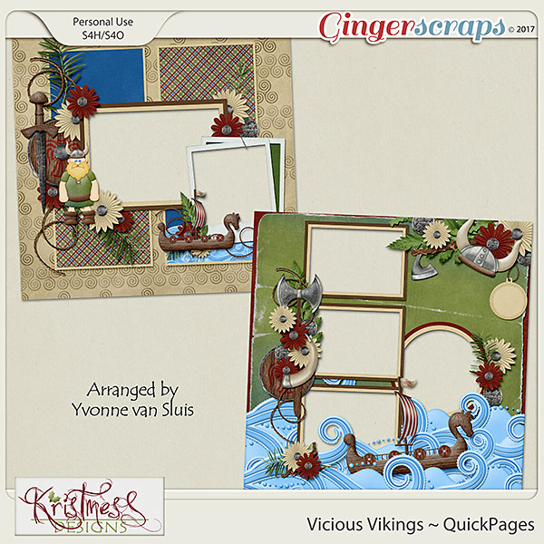 Vicious Vikings QuickPages