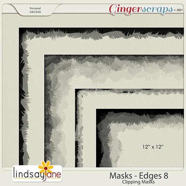 Masks Edges 8 by Lindsay Jane