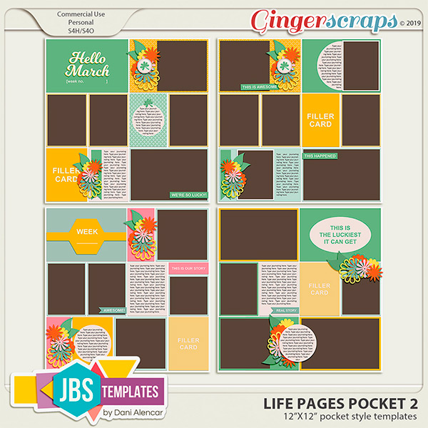 Life Pages Pocket 2 by JB Studio