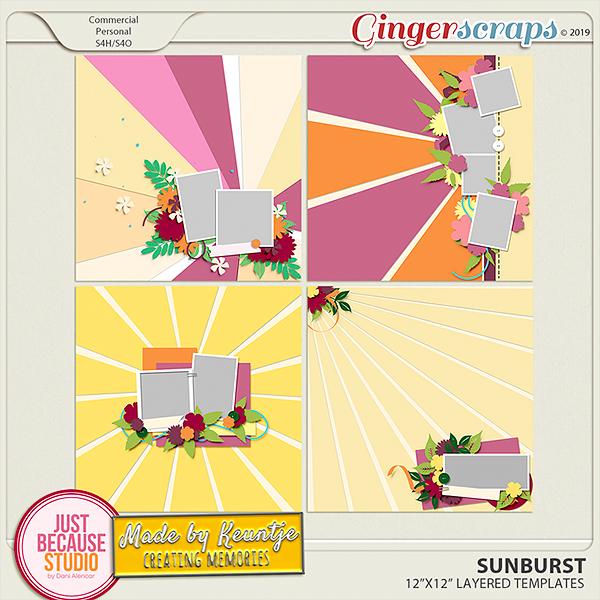 Sunburst Templates by JB Studio and Keuntje
