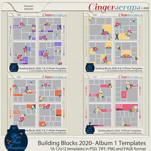 Building Blocks 2020 Bundle 1 by Miss Fish