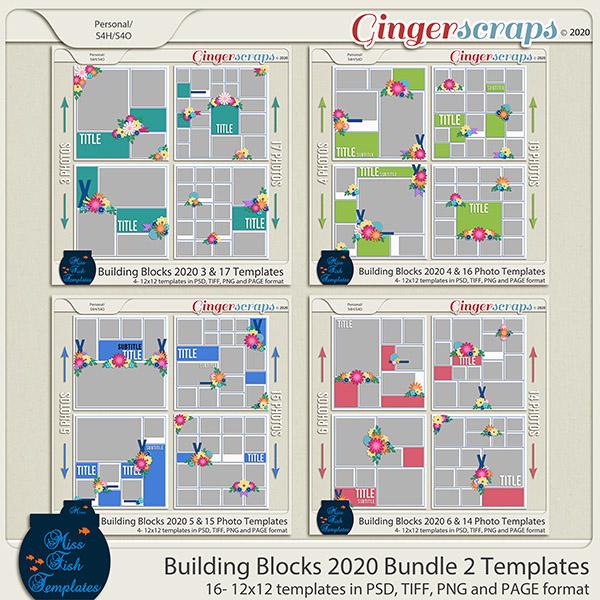 Building Blocks 2020 Bundle 2 by Miss Fish