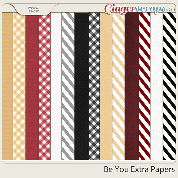 Be You Extra Papers by Miss Fish