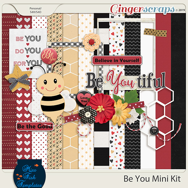 Be You Mini Kit by Miss Fish