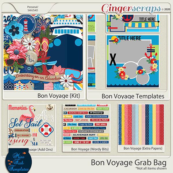 Bon Voyage Grab Bag by Miss Fish
