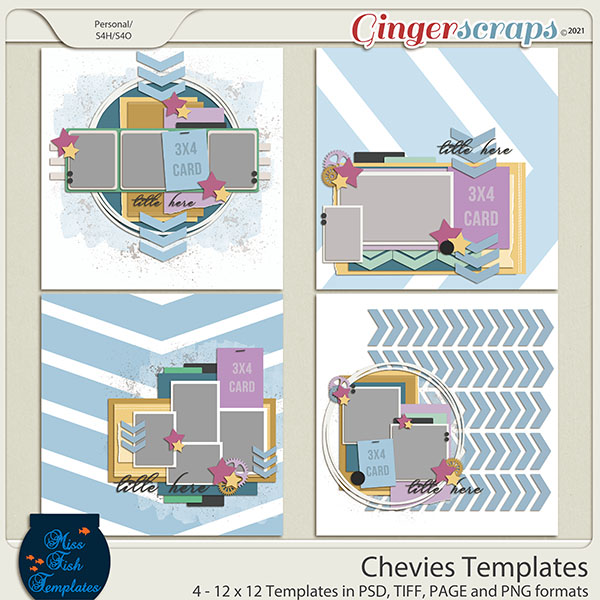 Chevies Templates by Miss Fish