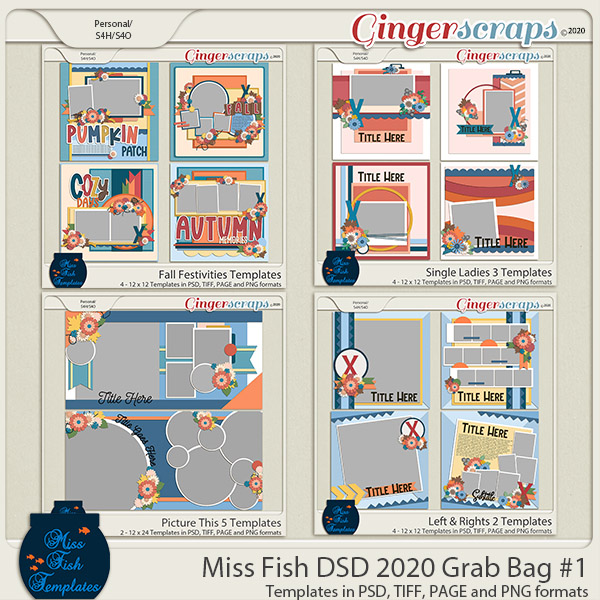 Miss Fish Grab Bag #1 DSD 2020