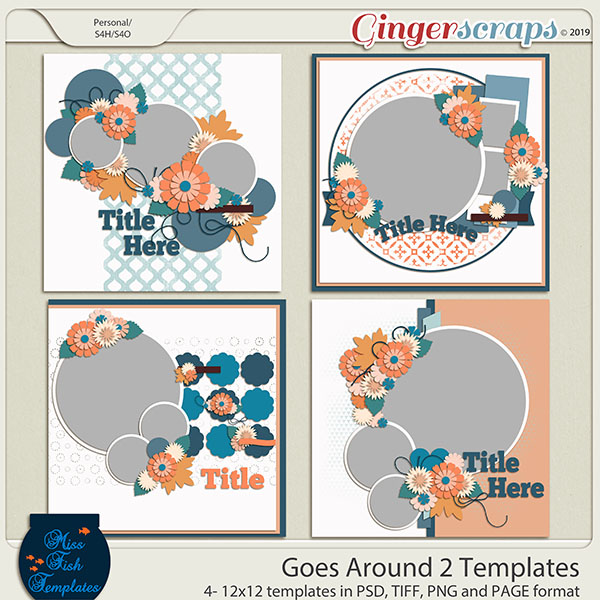 Goes Around 2 Templates by Miss Fish