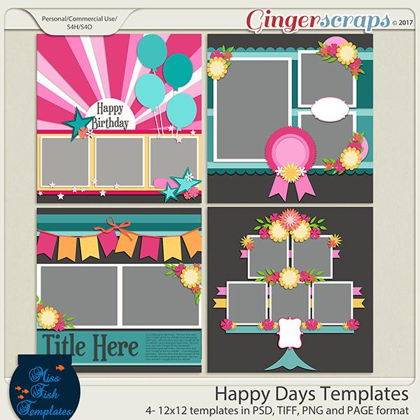 Happy Days Templates