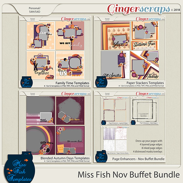 Miss Fish November Buffet Bundle