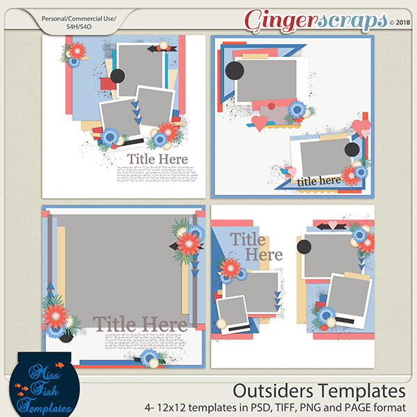 Outsiders Templates by Miss Fish