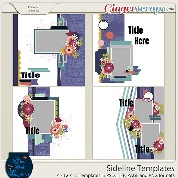 Sidelines Templates by Miss Fish