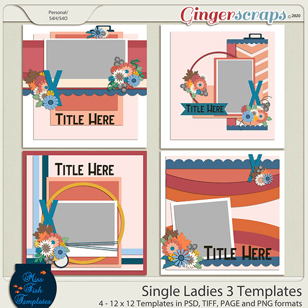 Single Ladies 3 Templates by Miss Fish